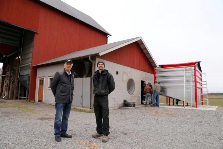 Hake palaa hallitusti ruotsalaisella viljatilalla