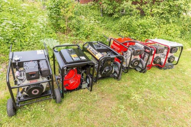 KM:n vertailussa 4-6 kW:n dieselaggregaatit