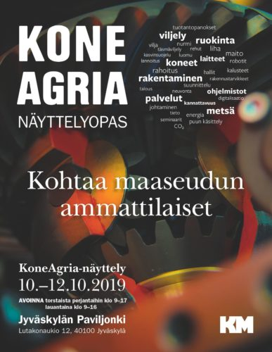 KoneAgria-näyttelyopas on ilmestynyt