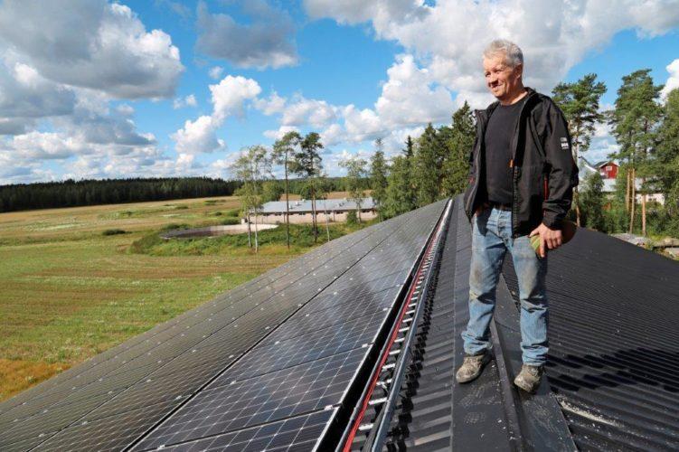 Aurinkoenergia kannattaa valjastaa omaan käyttöön