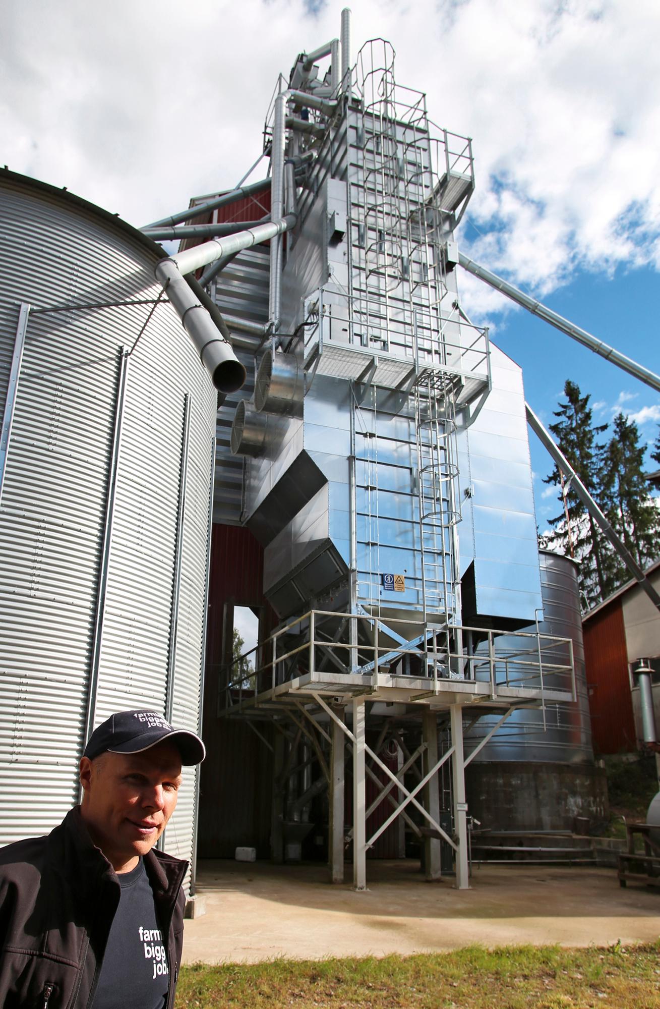 Tornum TF pystyy  sekä erä- että jatkuvatoimiseen  kuivaukseen