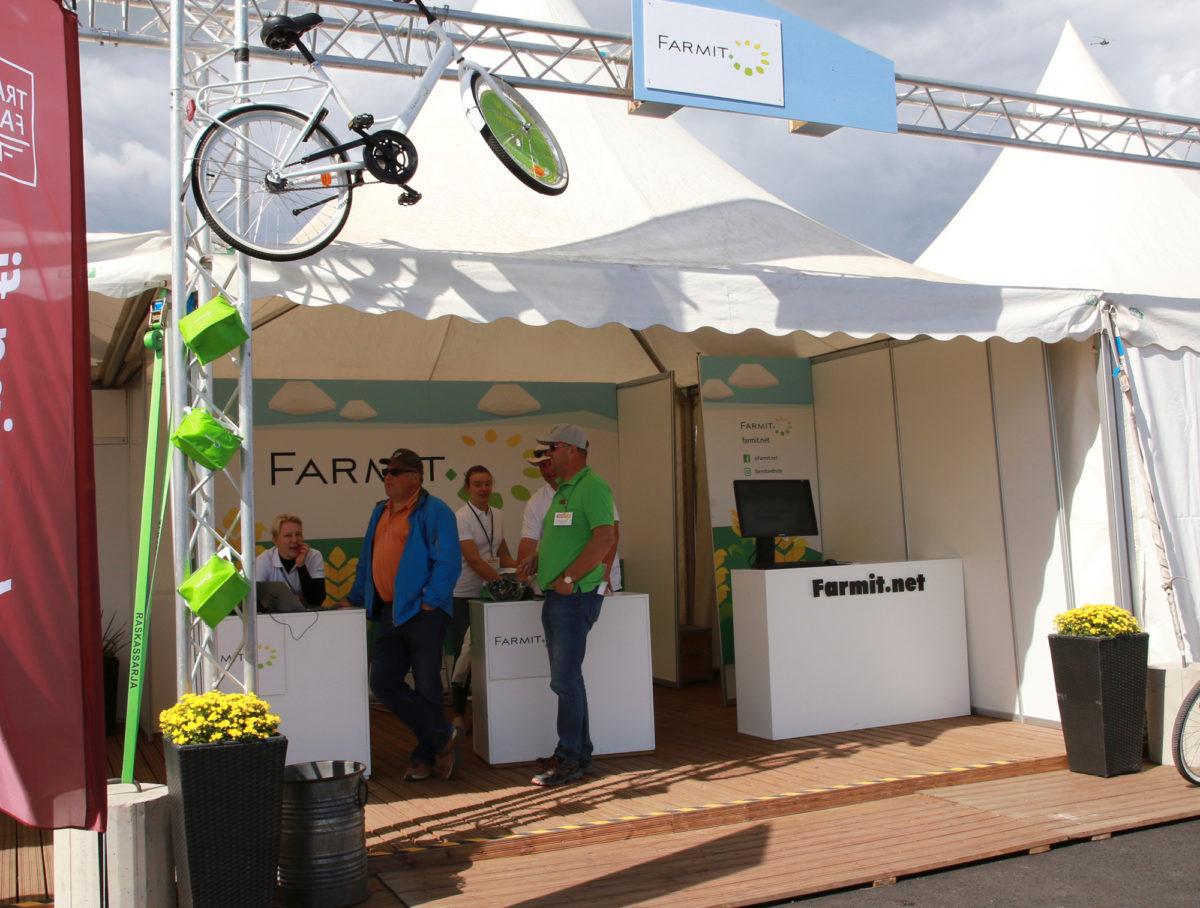 Farmit tarjoaa netissä ajankohtaisia palveluja maatalousyrittäjälle. Näyttelyissä, kuten 2019 Okrassa, voit tavata meitä myös kasvokkain.