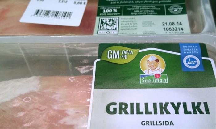 Snellman otti gmo-vapaa-markkinointiväittämän käyttöön alkuvuodesta osaan tuotepakkauksistaan.