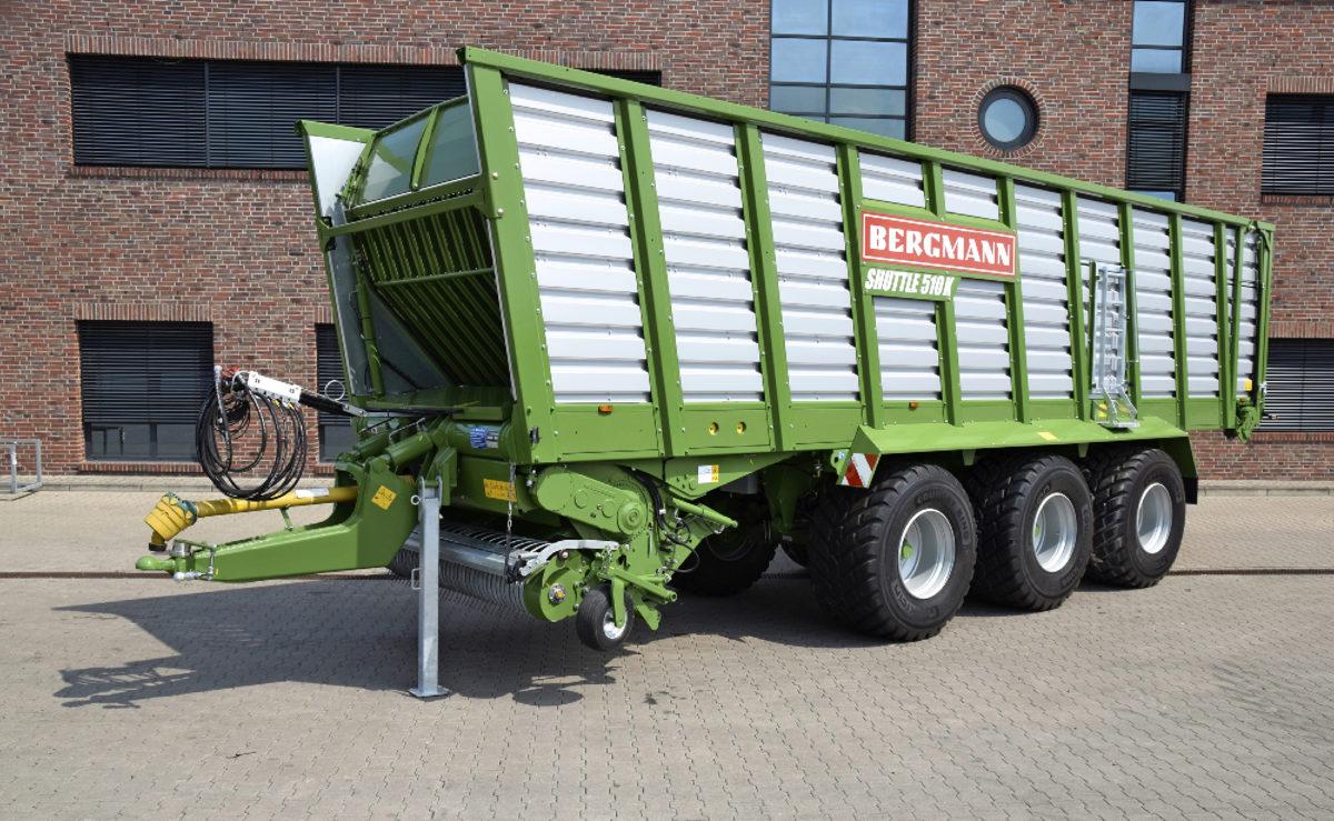 Täysin uudistuneet Bergmann Shuttle -noukinvaunut palaavat Suomen markkinoille.